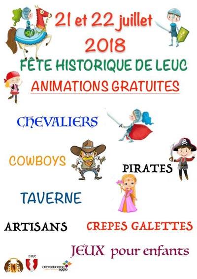 _fetes_historiques_leuc_animations_compagnies_medievales_Aude_Occitanie