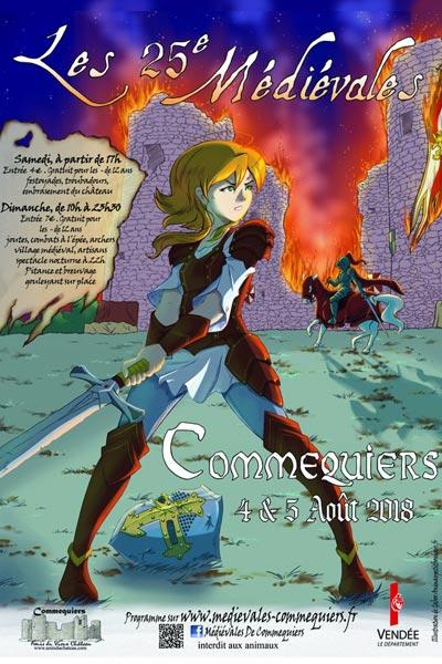 agenda_medievales_de_commequiers_2018_vendee_loire_