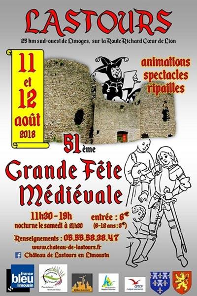 animations_fetes_medievales_chateau_lastours_limousin