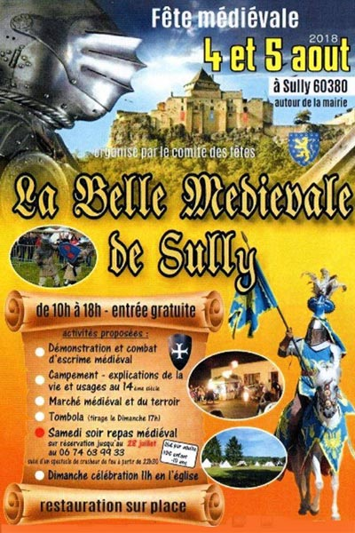 animations_fetes_medievales_sully_oise_hauts-de-France