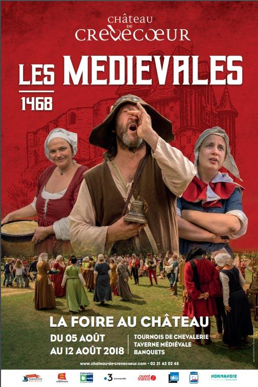 animations_medievales_histoire_vivante_chateau_crevecoeur_calvados_normandie_