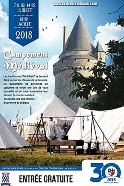 fetes_animations_campement_medievales_chateau_essor_blinois_loire_atlantique