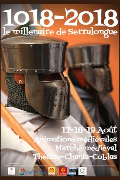 fetes_animations_marche_medievales_millenaire_serralongue_Occitanie