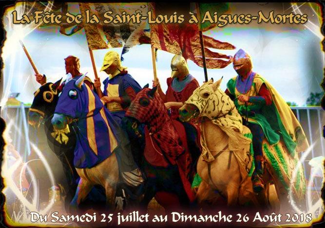 Le retour de la Fête de la Saint-Louis, à Aigues-Mortes