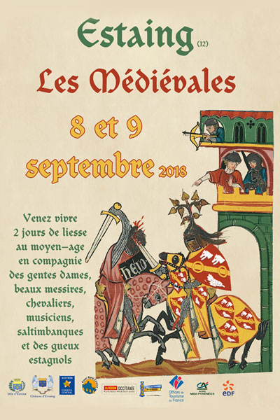 agenda_fetes_compagnies_animations_medievales_2018_estaing_occitanie