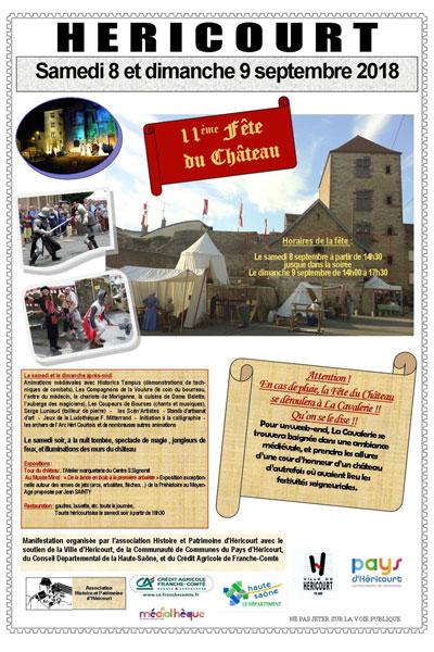 fetes_chateau_2018_hericourt_animations_medievales_Bourgogne-Franche-Comté