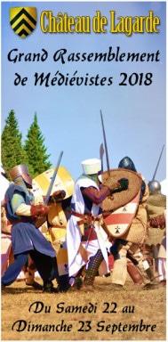 fetes_marche_medieval_rassemblement_medieviste_reconstituteurs_sauvegarde_chateau_patrimoine_lagarde_ariege_occitanie