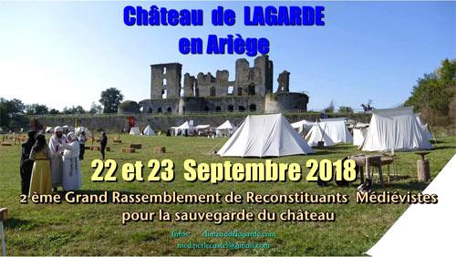 fetes_rassemblement_animations_medievales_histoire_vivante_reconstituteurs_chateau_lagarde_ariege_patrimoine