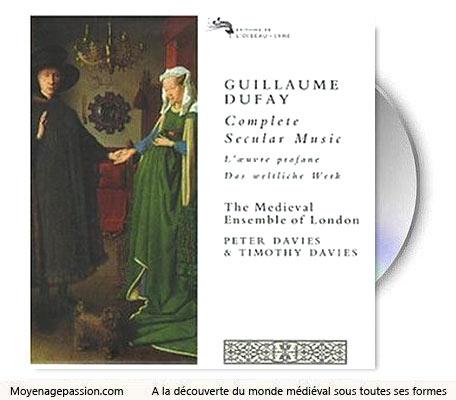 musique_chanson_medievale_profane_amour_courtois_guillaume_dufay_album_medieval_ensemble_london_Moyen-age