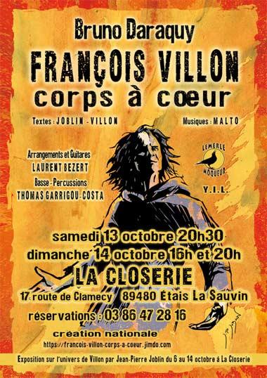 evenement_francois_Villon_spectacle_vivant_chansons_poesies_auteur_medieval_moyen-age_tardif