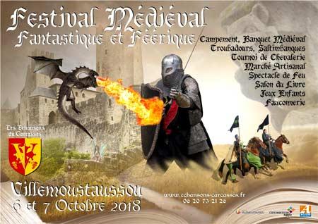 fetes_festival_medieval_feerique_fantastique_2018_Villemoustaussou_occitanie
