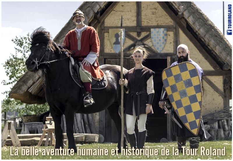 aventure_medievale_humaine_historique_archeosite_mottes_castrales_feodales_tour_roland