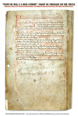chanson_medievale_croisade_manuscrit_ancien_MS_1717_harley_moyen-Age_vieux_francais