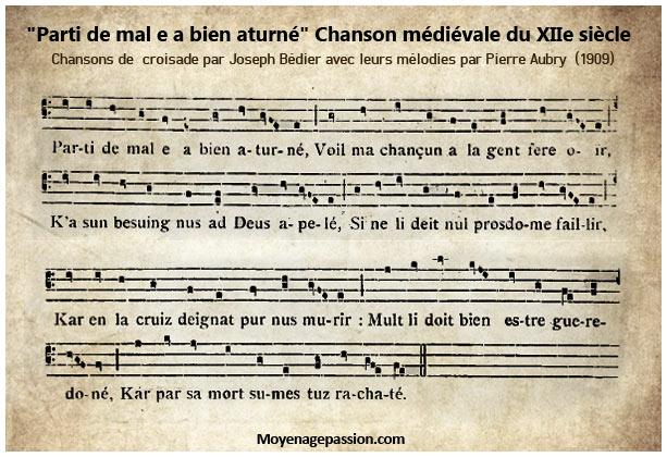 chanson_musique_medievale_moyen-age_XIIe_siecle_chant_croisade_parti-de-mal