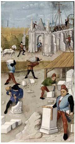chantier_medievale_corporation_batisseurs_metiers_construction_restauration_moyen-age