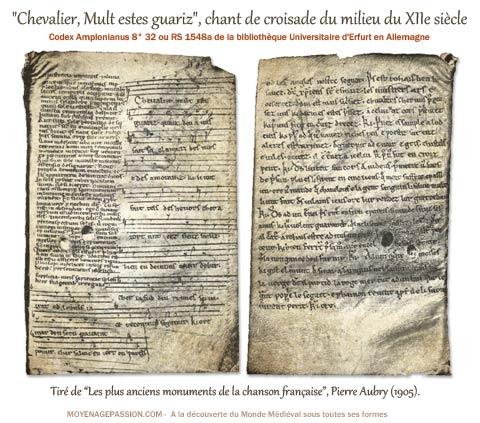 chevalier-mult-estes-guariz_chant-de-croisade-medieval_chanson_moyen-age_XIIe-siecle-s