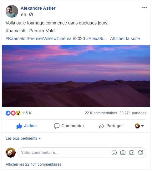 kaamelott_trilogie_cinema_annonce_officielle_tournage_legendes-arthuriennes