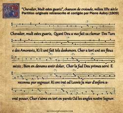 partition_chanson_croisade_chevalier-mult-estes-guariz_XIIe-siecle_Moyen-age-s