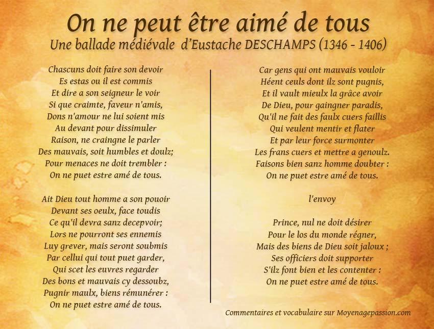 eustache_deschamps_poesie_ballade_medievale_litterature_moyen-age_franchise_franc-parler
