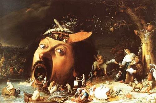 La tentation de Saint-Antoine, Joos Van Craesbeeck, XVIIe siècle