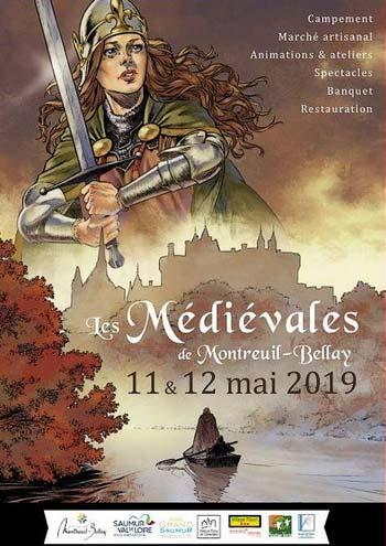 Medievales-2019_Montreuil-Bellay_animations_spectacle_moyen-age_Pays-de-la-Loire