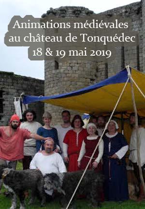 animations-medievales_chateau-de-Tonquedec_Bretagne_cotes-d-armor