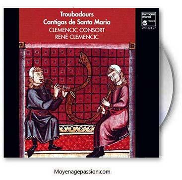 cantigas-de-santa-maria_clemencic-consort_alphonse-X-de-Castille_culte-marial_Moyen-age-central