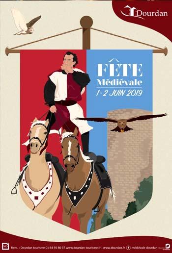 dourdan-fete-medievale-2019_fauconnerie-spectacles-animations_Île-de-France