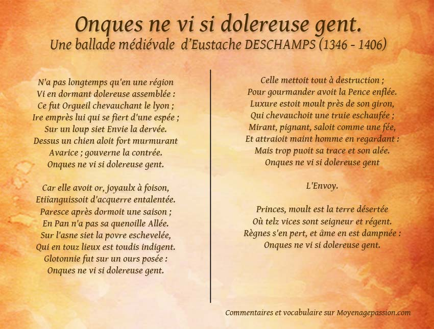 eustache_deschamps_poesie_satirique_ballade_medievale_peches_capitaux_moyen-age-tardif