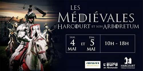 fetes-medievales_2019_animation_chateau-d-Harcourt_eure_Normandie_tournoi