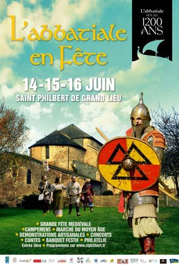animations-campement-medieval_fete_abbatiale_Saint-Philbert-de-Grand-Lieu_Loire-Atlantique