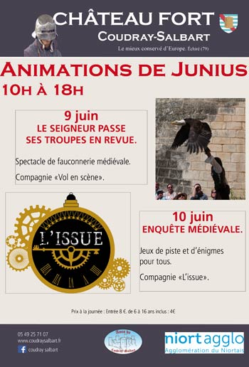 animations-medievales_Château-Coudray-Salbart-2019