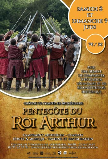 animations-medievales_legendes-arthuriennes_foret_broceliande_pentecote_roi-arthur_Bretagne