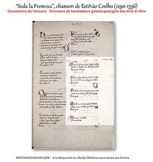 chanson-medievale_troubadour_Estevao-Coelho_manuscrit_ancien_cancioneiro_da_vaticana_moyen-age_s