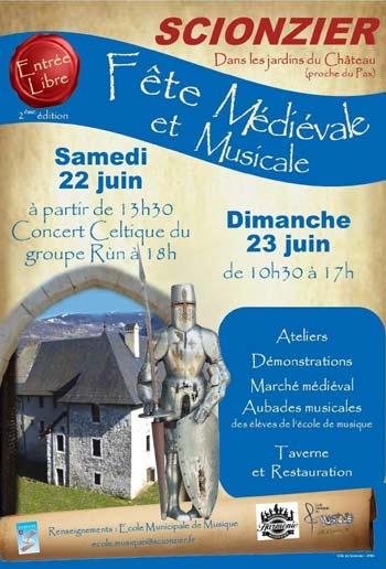 fete-medievale-Scionzier-Haute-Savoie-Auvergne-Rhône-Alpes