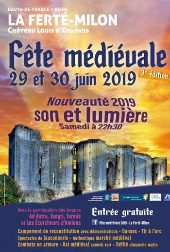fete-medievale-chateau-la-ferte-milon-Aisne-Hauts-de-France