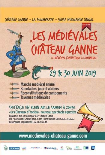medievales-chateau-ganne-Pommeraye-2019-calvados-Normandie