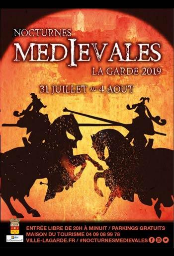animations-fetes-medievales-nocturne-la-garde-2019-Provence-Alpes-Cote-Azur