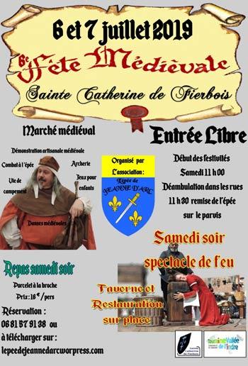 animations-médiévales--fete-johannique-Sainte-Catherine-de-Fierbois_Val-de-Loire