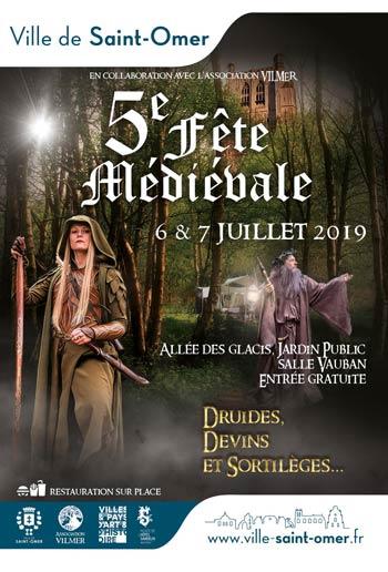 medievale-saint-omer-2019-marche-animation-medieval-fantastique-Hauts-de-France