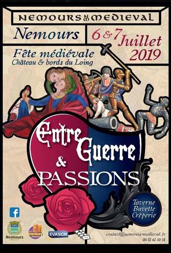 medievales-2019-Nemours-animations-marche-Seine-et-Marne-Île-de-France