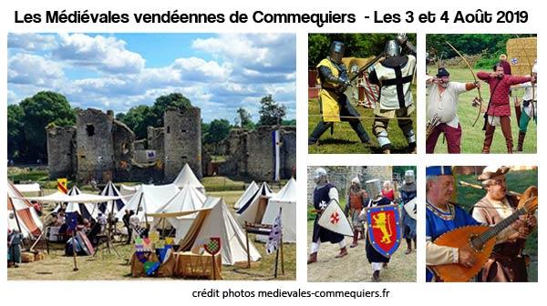 medievales-2019-commequiers-chateau-sauvegarde-patrimoine-animations-moyen-age-festif