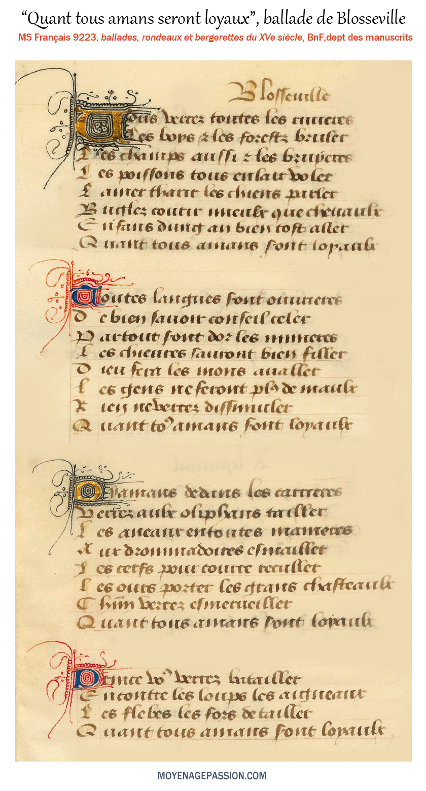 Humour Médiéval Moyen âge Passion