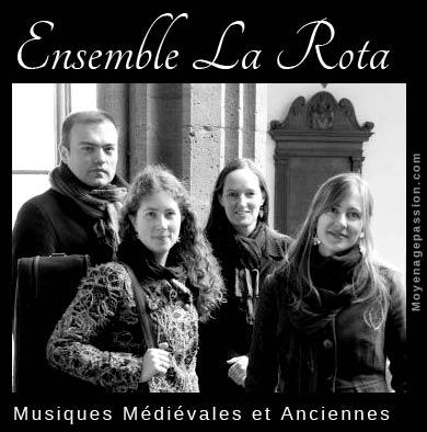 ensemble-medieval-la-Rota-musiques-chansons-moyen-age