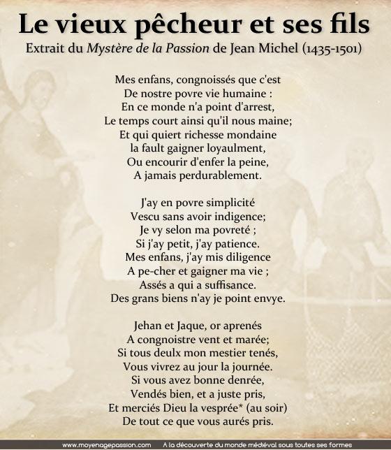 poesie-medievale-mystere-de-la-passion-jean-michel-nouveau-testament-evangile-pécheur-Zebedee-Moyen-Age-chretien
