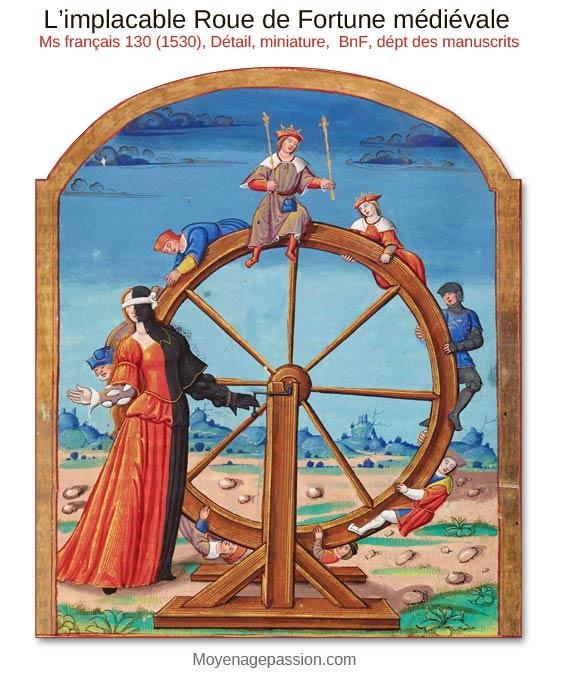 roue-de-fortune-moyen-age-miniature-enluminure-morale-medievale