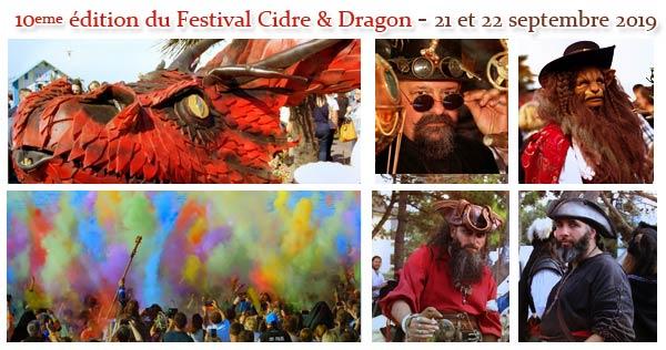 festival-cidre-et-dragon-2019-agenda-animations-medieval-fantastique-Normandie-Calvados