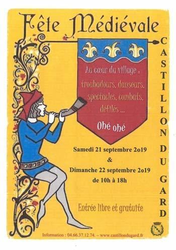 medievale-2019-animations-week-end-moyen-age-Castillon--du-Gard-occitanie