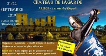 rassemblement-medieval-2019-animations-reconstituteurs-chateau-de-lagarde-ariege-Occitanie