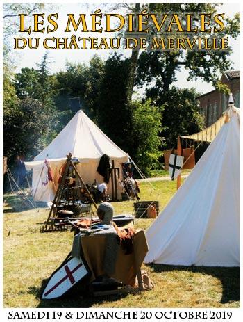 medievale-2019-campement-animations-chateau-de-merville-occitanie